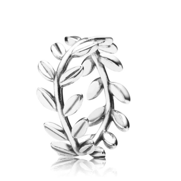 pandora jewelry leaf ring from poshmark Leaf Band leaf ring from pandora